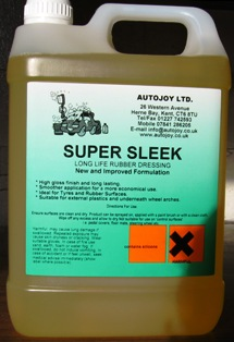 Autojoy Super Sleek Tyre Dressing 5 Litre